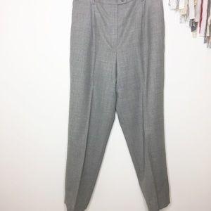 Pendleton Gray dress pants 14W plus size wool